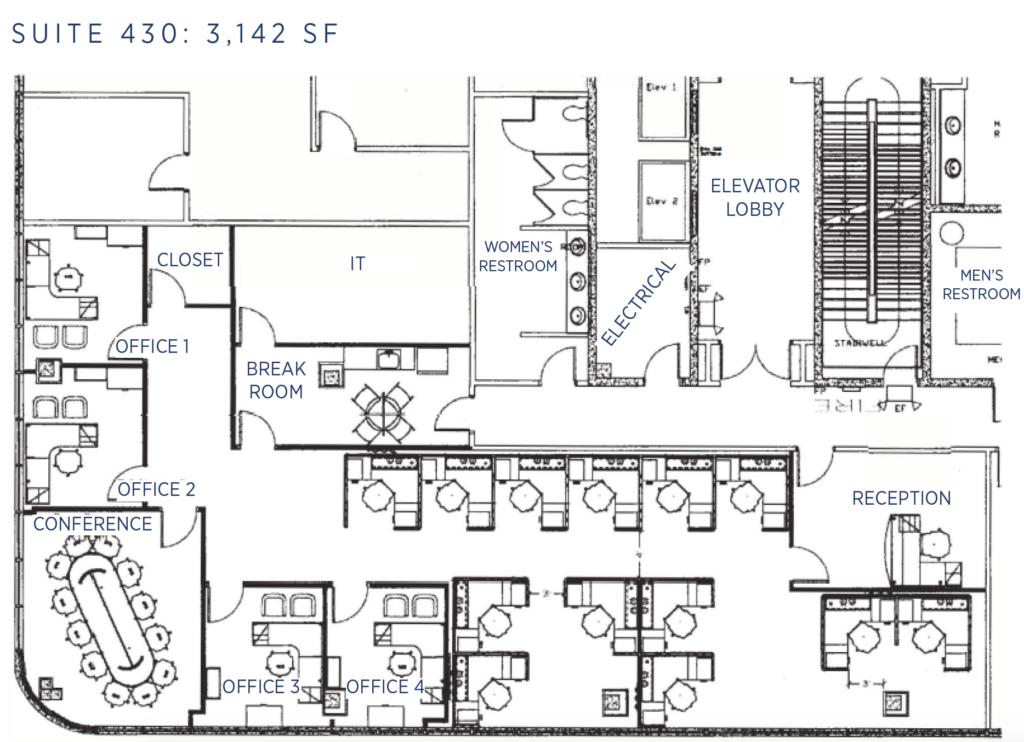 440 Knox Abbott Drive Floor Plan